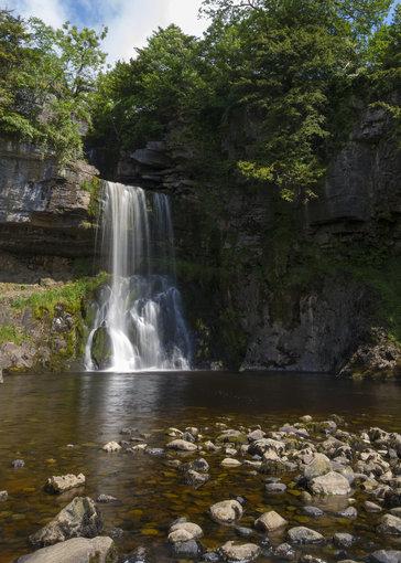 Yorkshire Dales nacionaliniame parke.