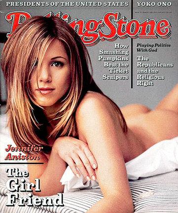 """Rolling Stone"" viršelis/Jennifer Aniston"