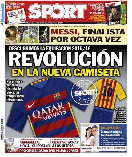"""sport.es nuotr./""""Sport"""" viršelis"""