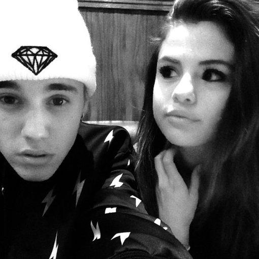 """Instagram"" nuotr./Justinas Bieberis ir Selena Gomez"