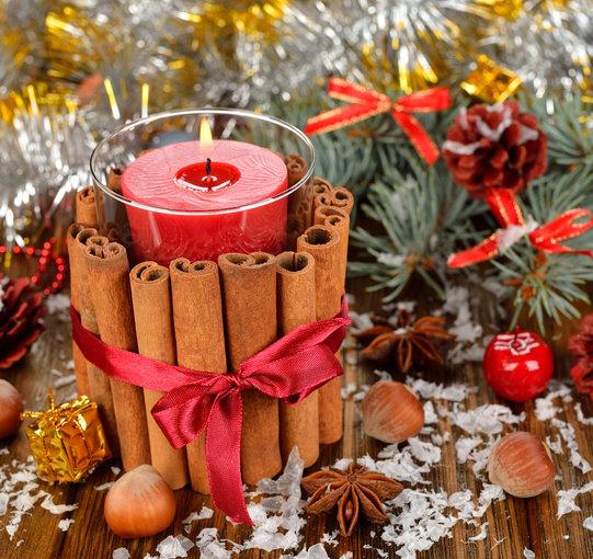 Shutterstock nuotr./Kalėdinė kompozicija.