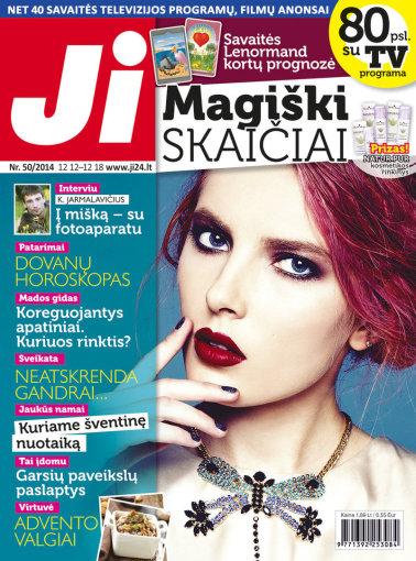 """Redakcijos archyvo nuotr./2014 m. gruodžio mėnesio žurnalo """"Ji"""" Nr. 50"""