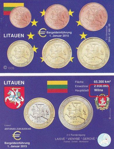 """""""Ebay"""" nuotr./Internete platinamame lankstinuke dėl euro įvedimo, skaitytojas rado klaidų."""