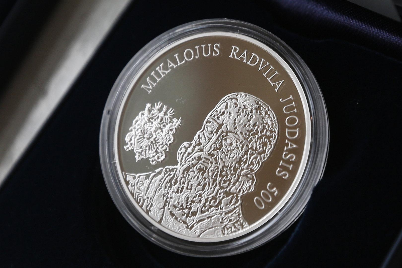 Sidabro monetos kaina