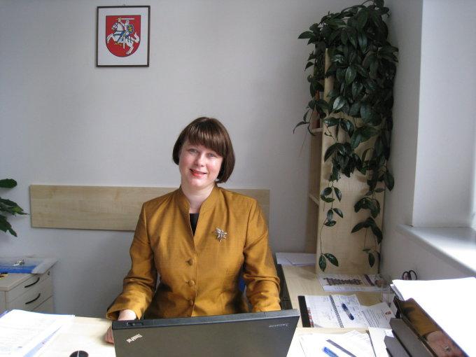 Valstybinės lietuvių kalbos komisijos pirmininkė Daiva Vaišnienė