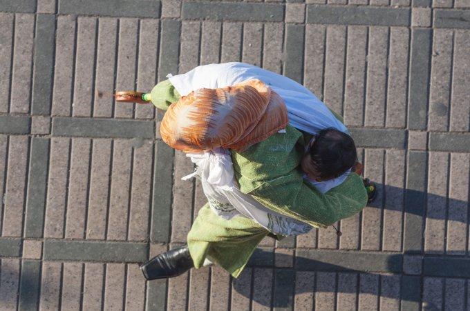 123rf.com nuotr./Marokietė su vaiku