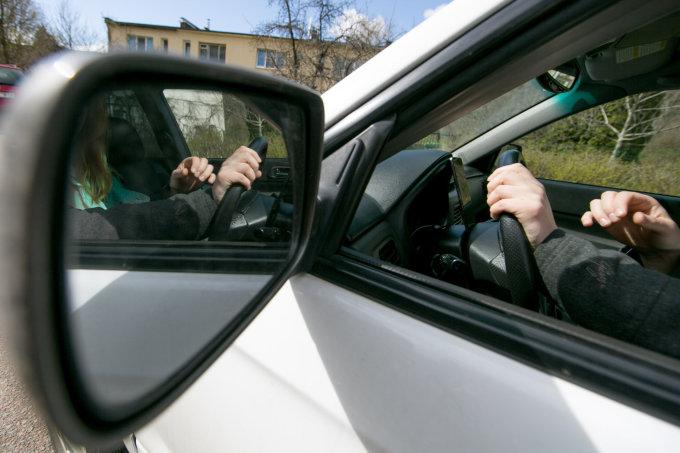 Juliaus Kalinsko/15min.lt nuotr./Vairuotojas