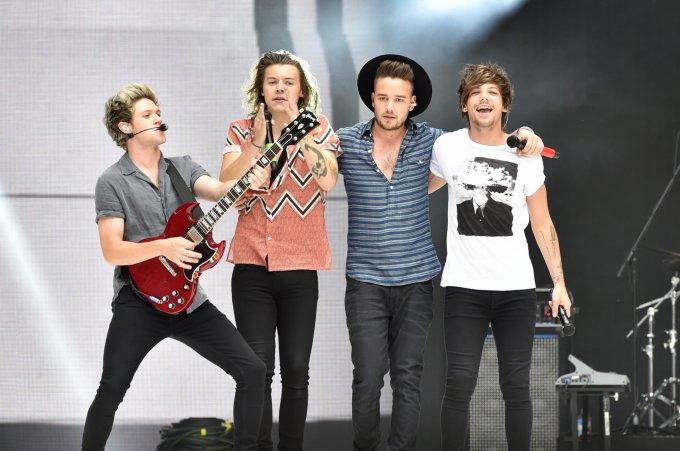 """""""Scanpix"""" nuotr./""""One Direction"""" (iš kairės): Niallas Horanas, Harry Stylesas, Liamas Payne'as ir Louisas Tomlinsonas"""