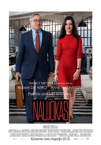 Naujokas / The Intern (2015) [BDRip LT] Komedija