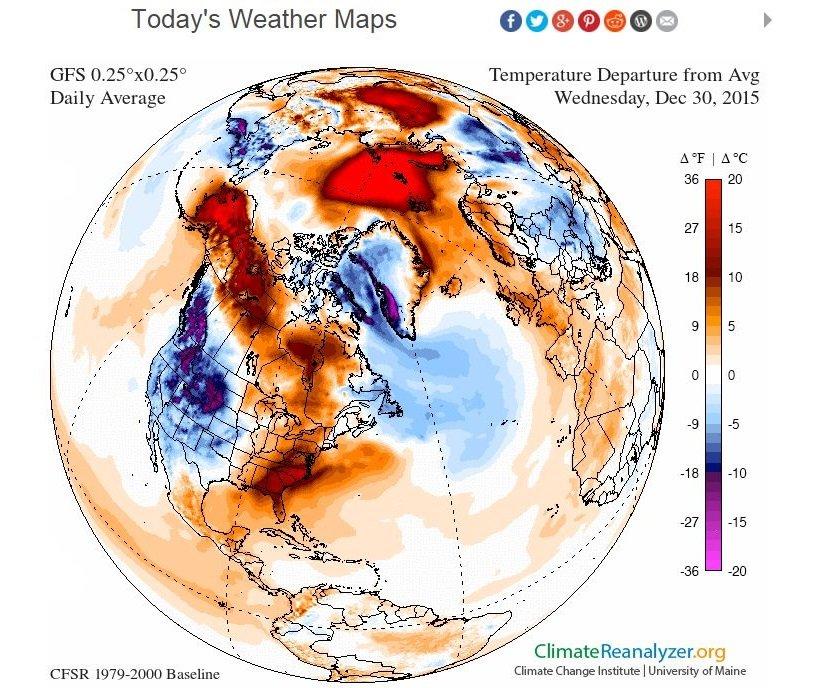 cci-reanalyzer.org iliustr./Skirtumas nuo vidutinės gruodžio 30-osios temperatūros