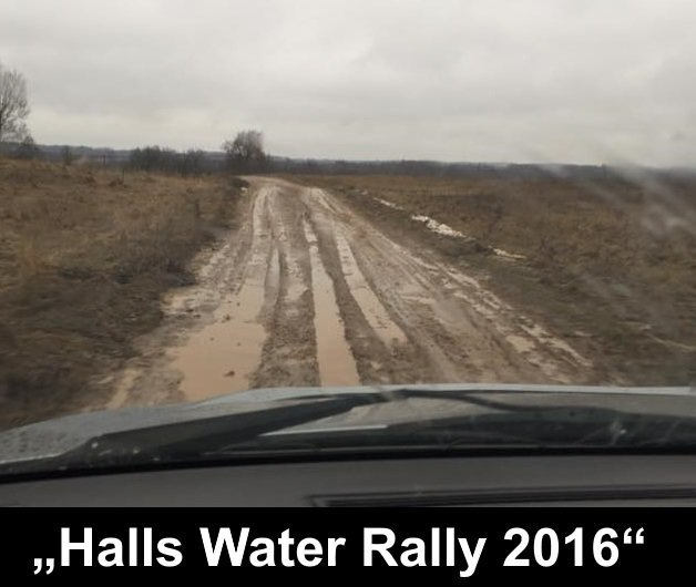 """Halls Water Rally"""