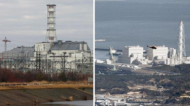 Černobylio ir Fukušimos atominės elektrinės