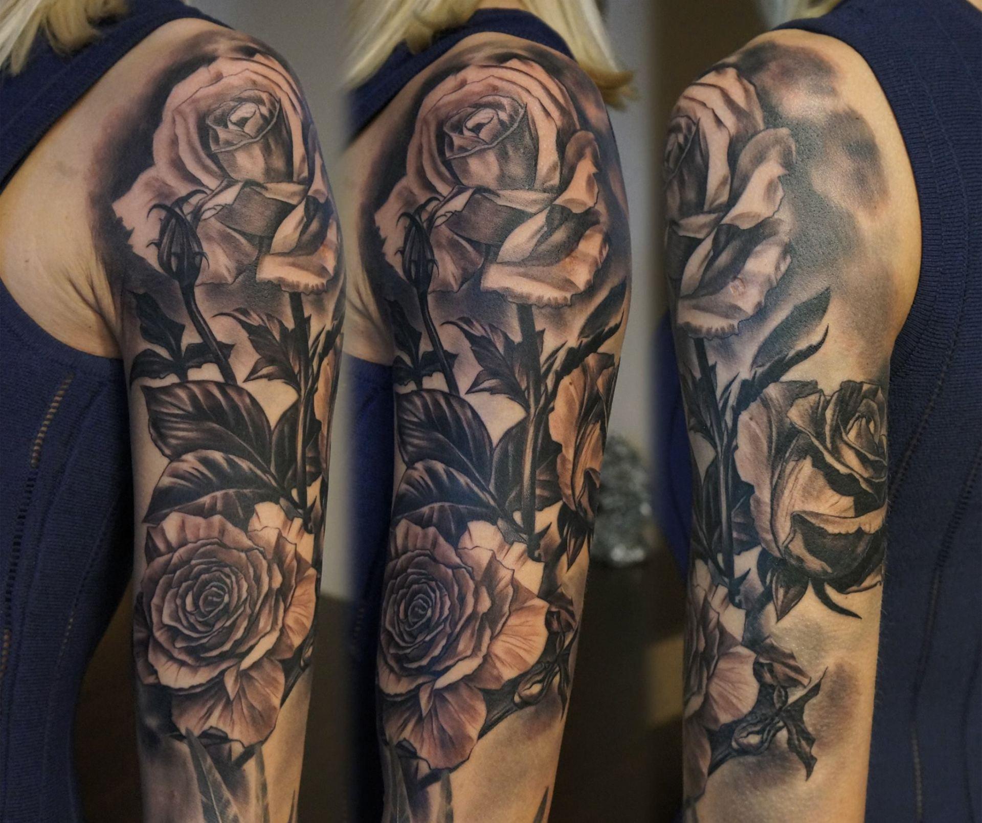 Tatuiruotes ant rankos vyrams