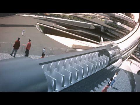 """Kaip galėtų atrodyti """"Hyperloop"""""""