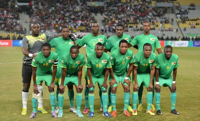 """""""Scanpix"""" nuotr./Zimbabvės futbolo rinktinė"""